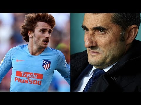 Barcelona News Round-up ft Ernesto Valverde's future & Antoine Griezmann