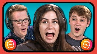 YOUTUBERS REACT TO INSTAGRAM TV (IGTV)