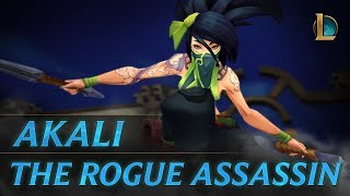 League of Legends - Akali: The Rogue Assassin Champion Trailer