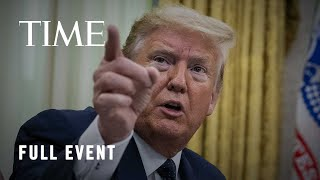 President Trump Holds News Conference Following U.S. Protests and Tensions with China   TIME