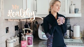 MY HEALTHY MORNING ROUTINE        Workout With Me!       Fashion Mumblr AD
