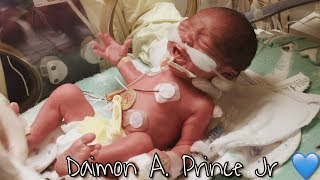 DJ'S LABOR & DELIVERY STORY | Biannca Prince