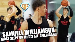 MOST SLEPT ON McD's All-American HAS A DEADLY JUMPER!! | Samuell Williamson is READY FOR LOUISVILLE