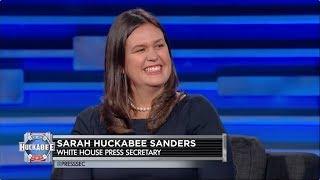 EXCLUSIVE: White House Press Secretary Sarah Huckabee Sanders Talks Politics and More!  | Huckabee