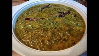Village Style Chane ka Saag Recipe | चने का साग | how to make Chana Saag | Winter Special Chana Saag