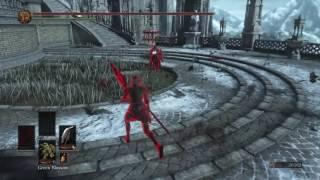 Dark Souls 3 PvP SL 120 - Quality Build - Refined Winged Knight Halberd + Refined Estoc
