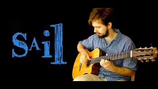 Awolnation - SAIL - Fingerstyle guitar cover + TABS