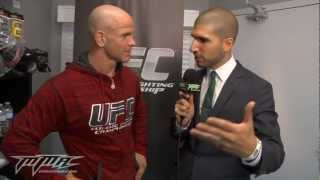 UFC 149: Ryan Jimmo Shows Off His Robot Dance Moves
