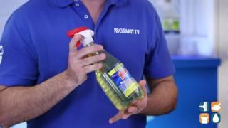 Windex Disinfectant Multi-Surface Cleaner, Lemon, 26-oz. Bottle