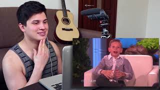 Vocal Coach Reaction to Kid Yodeler Mason Ramsey Performing on Ellen