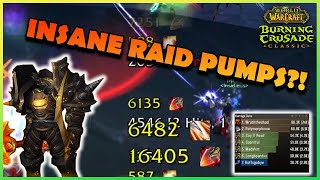 INSANE RAID PUMPS?! | Daily Classic WoW Highlights #102 |