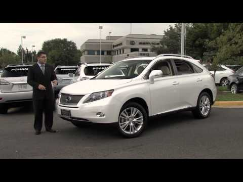 Pohanka Lexus - 2012 RX 450h Walk Around