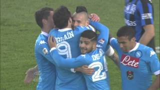 Atalanta-Napoli 1-3 -17a Giornata Serie A TIM 15/16 - Sintesi