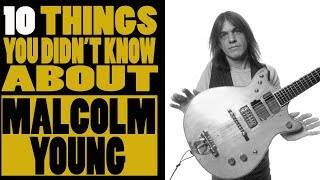 10 Things you didn't know about Malcolm Young of AC DC