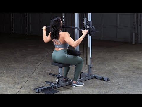 Body-Solid GLM83 Pro Lat Machine (BodySolid.com)