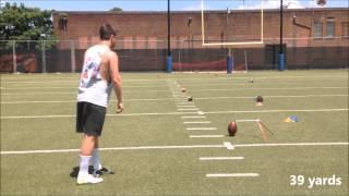 Wil Lutz | Kicker Punter | Georgia State | Field Goal Work | June 2015