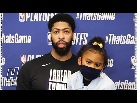 Anthony Davis Postgame Press Conference - Game 3 - Suns vs Lakers | 2021 NBA Playoffs