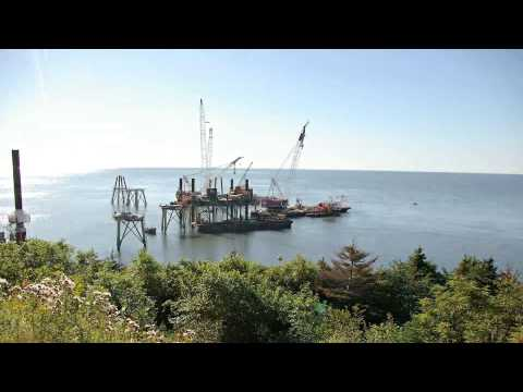 Canaport LNG Terminal Time Lapse HD