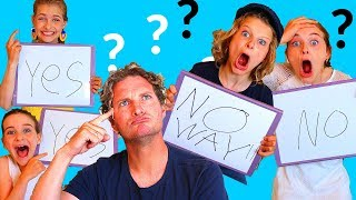 WHO KNOWS PAPA THE BEST? | Who are The Norris Nuts Part 4/5