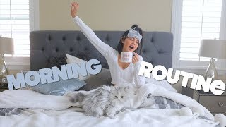 MY MORNING ROUTINE IN A NEW HOUSE!