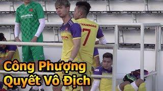 Đỗ Kim Phúc đi xem Công Phượng , Quang Hải , Đặng Văn Lâm & ĐT Việt Nam tập đấu chung kết ở Thái Lan