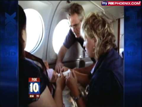 Aerocare Air Ambulance on Fox News Arizona