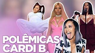 TOP 10 POLÊMICAS DE CARDI B: TRETA COM NICKI MINAJ, VIDA DE STRIPPER, HOMOFOBIA...   Foquinha