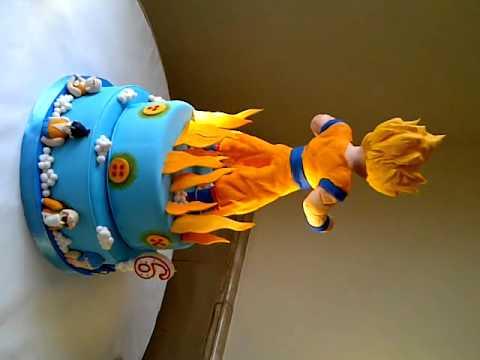 Dragon Ball Z Birthday Cake Toppers