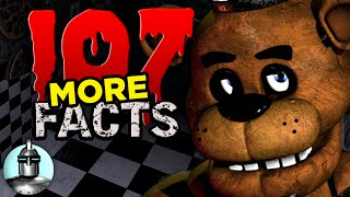 107 Five Nights At Freddy's Facts YOU Should Know Part 2 | The Leaderboard