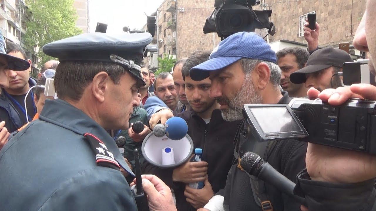 Никол Пашинян задержан после встречи с премьером