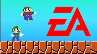 If Mario Was made by EA Electronic Arts