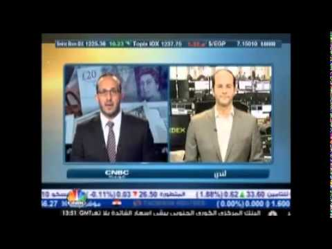 أشرف العايدي على سي ان بي سي العربية -- 12 يونيو 2014 Chart