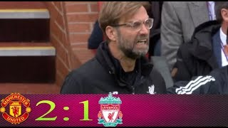 Manchester Utd vs Liverpool 2-1 Goals & Highlights HD 10 03 2018
