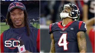 DeAndre Hopkins praises Deshaun Watson, J.J. Watt after Texans' win | SportsCenter