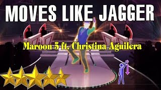 🌟 Christina Aguilera  & Maroon 5 - Moves Like Jagger | Just Dance 4 🌟