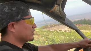 Mikey Garcia and Rainbow off roading ( wow crazy )