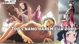 Top 5 Nàng Harem Của Zoro | Người đẹp xứng đáng với Zoro nhất ? Bình Luận Bựa #36