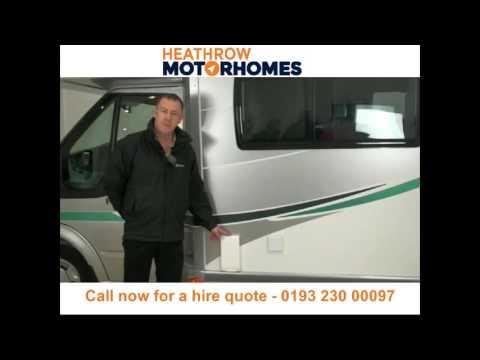 Motorhome hire and campervan rental Heathrow - Call 01932 300097