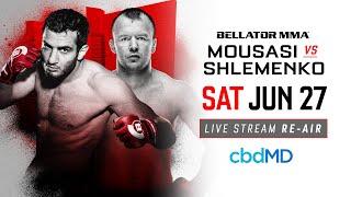 Re-Air | Bellator 185 Gegard Mousasi vs. Alexander Shlemenko