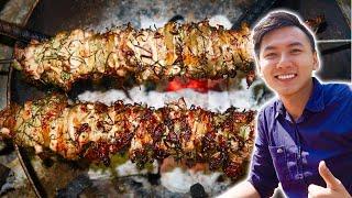 ĂN THỊT NƯỚNG THEO CÁCH NGƯỜI DAO |Du lịch Hà Giang #4