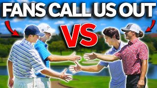 2 Random Golfers Challenged Micah & I To A 9 Hole Match... This Is What Happened