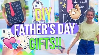 DIY Father's Day Gifts! | Last Minute Gifts to Make for Your Dad!!
