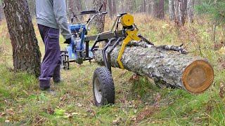 Лесовоз для мотоблока.