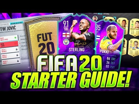 HOW TO START FIFA 20 WEB APP!