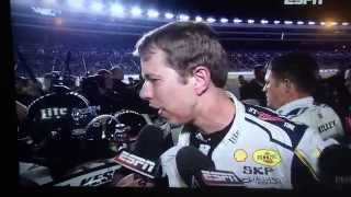 Jeff Gordon and Brad Keselowski fight after the AAA 500 at Texas Motor Speedway.11-2-14 Live on ESPN