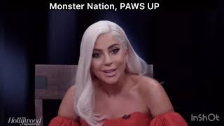 Lady Gaga interviewed by The Hollywood Reporter about A Star Is Born. Actresses Around The Table