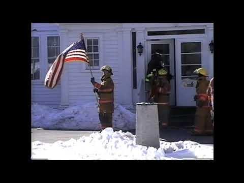 Funeral Escort for Fireman Lee Guerin  2-16-04