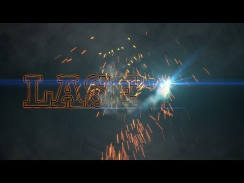 After Effects tutorials Sparks Title Sequence Using CC Particle