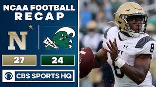 Navy vs Tulane: NCAA Fotball Recap | 09-19-2020 | CBS Sports HQ