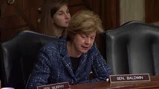 Senator Tammy Baldwin Presses HHS Secretary Nominee Alex Azar on Prescription Drug Prices